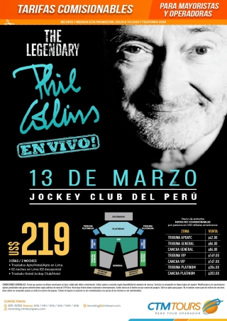 THE LEGENDARY PHIL COLLINS - EN VIVO