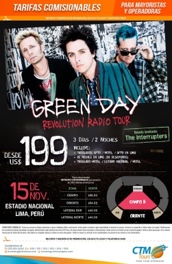 Green Day en Lima - Perú