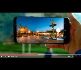 VIDEO OF THE NEW SAMSUNG GALAXY S8 WITH IMAGES OF PERU EXCEEDED THE 3.6 MILLION VIEWS